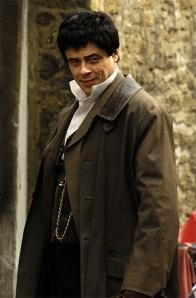 Lawrence Talbot (Benicio Del Toro), The Wolfman, 2010.