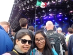 Gaby and me @ Glastonbury 2014
